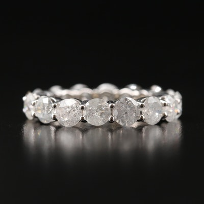 14K 4.32 CTW Diamond Eternity Band
