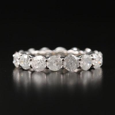14K 4.32 CTW Diamond Eternity Band