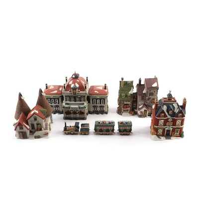 "Department 56 Heritage Village Collection ""Dickens' Village Series"" Buildings"