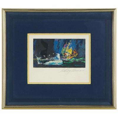"LeRoy Neiman Serigraph ""Moby Dick,"" circa 1979"