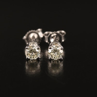 14K 0.44 CTW Diamond Stud Earrings