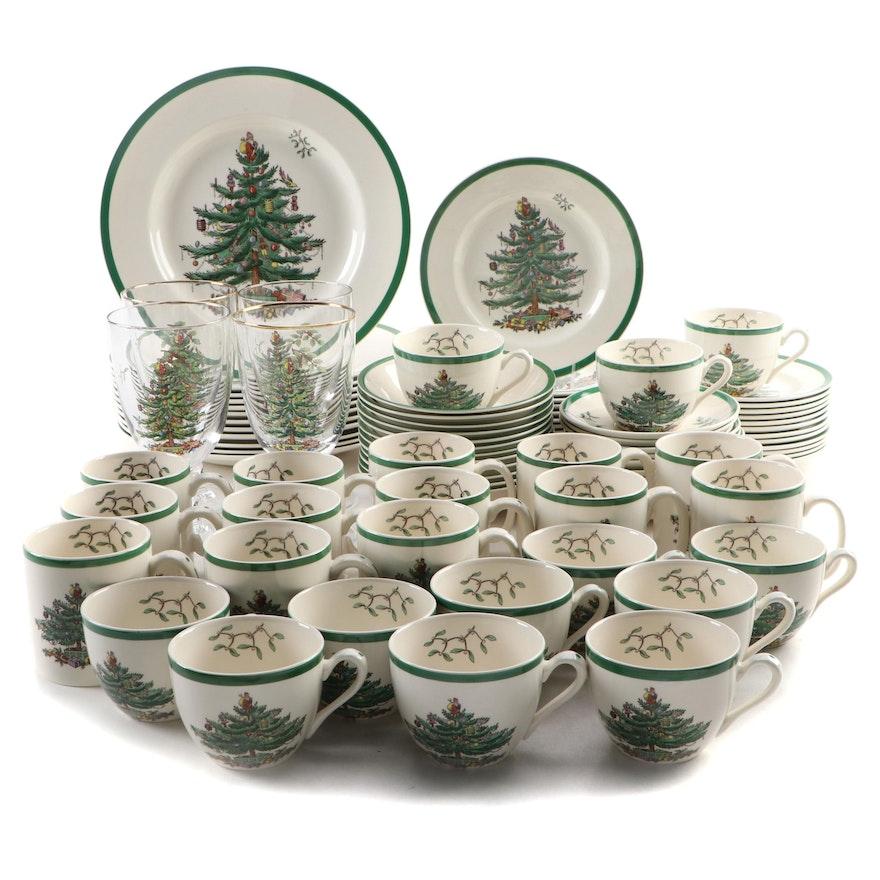 "Spode ""Christmas Tree"" Earthenware Dinnerware"