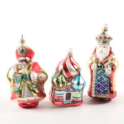 "Kurt S. Adler ""St. Basils"" and Other Polanaise Collection Christmas Ornaments"
