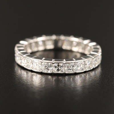 Platinum 2.16 CTW Diamond Eternity Band