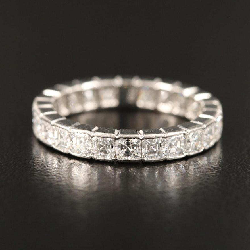 Platinum 2.16 CTW Diamond Eternity Band