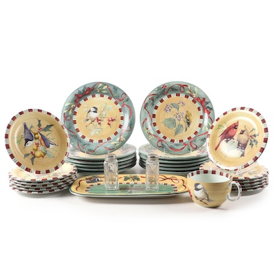 "Lenox ""Winter Greetings"" Earthenware Dinnerware, 1999–2011"