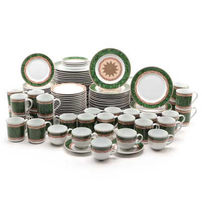 "Royal Worcester ""Mosaic"" Porcelain Dinnerware, 1994–1998"
