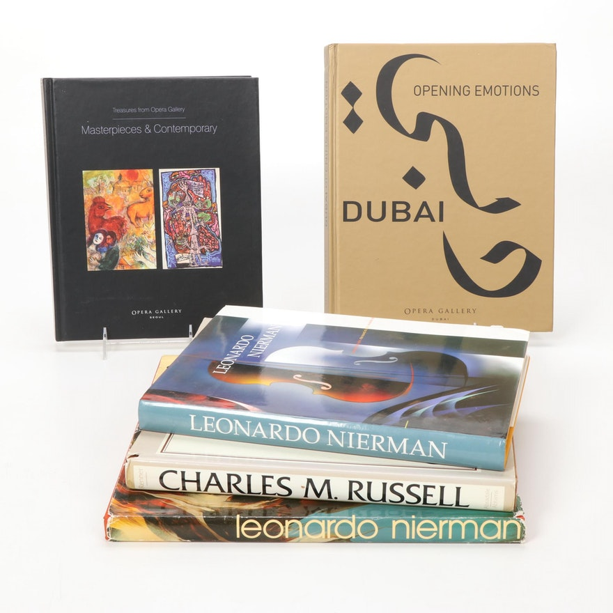 Contemporary, Expressionist, and Other Gallery Art Books