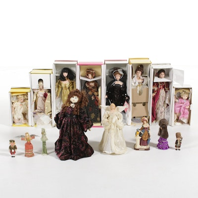 Effanbee, Seymour Mann, and Other Collector's Dolls