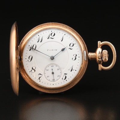 1912 Elgin Hunting Case Pocket Watch