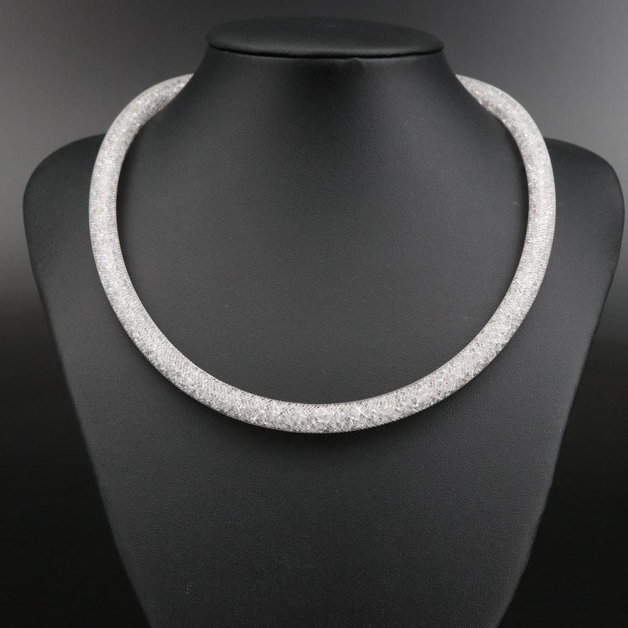 "Swarovski Crystal ""Stardust"" Necklace"