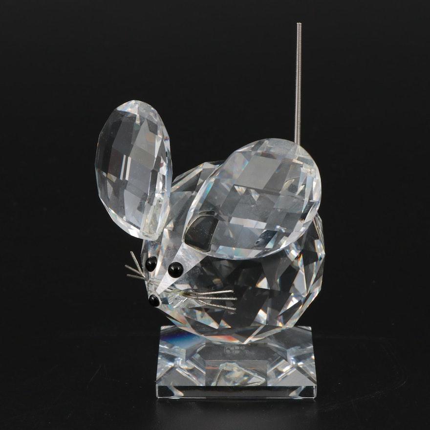 "Swarovski Crystal ""Mouse"" Figurine, Late 20th Century"