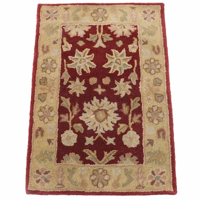 "2'1 x 3'0 Hand-Tufted Indian Safavieh ""Heritage"" Wool Rug"