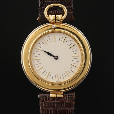 Vintage Audemars Piguet Philosophe Ultra-Thin 18K Gold Wristwatch