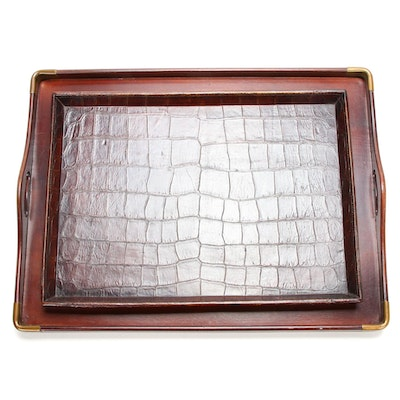 Restoration Hardware and Original Book Works Trays, Contemporary