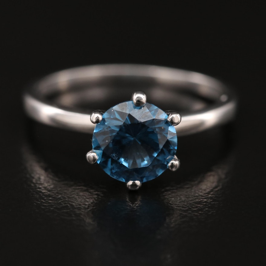 10K Spinel Solitaire Ring