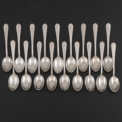 "International Silver ""Pine Tree"" Sterling Silver Demitasse Spoons"