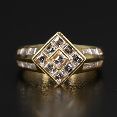 18K 1.50 CTW Diamond Ring
