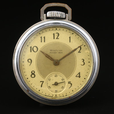 Vintage Westclox Pocket Ben Pocket Watch