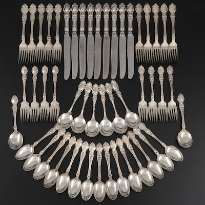 "R. Wallace & Sons ""Violet"" Sterling Silver Flatware"