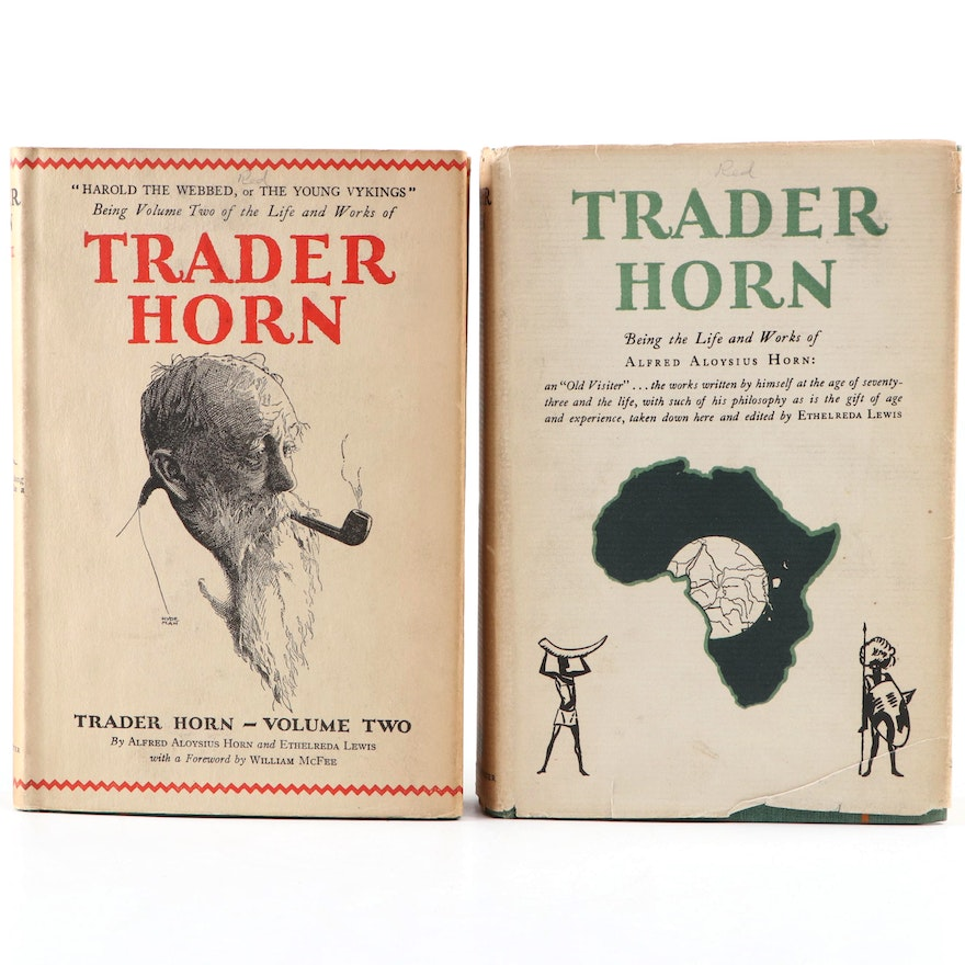"""""""Trader Horn"""" by Alfred Aloysius Horn and Ethelreda Lewis, 1927-1928"""