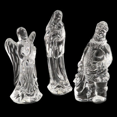 Waterford Crystal Nativity and Christmas Figurines, 1994–1999