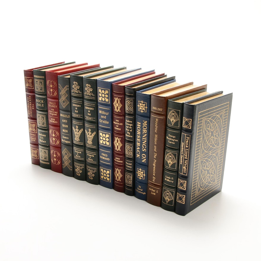 Books from The Easton Press Leather-Bound Library of American History