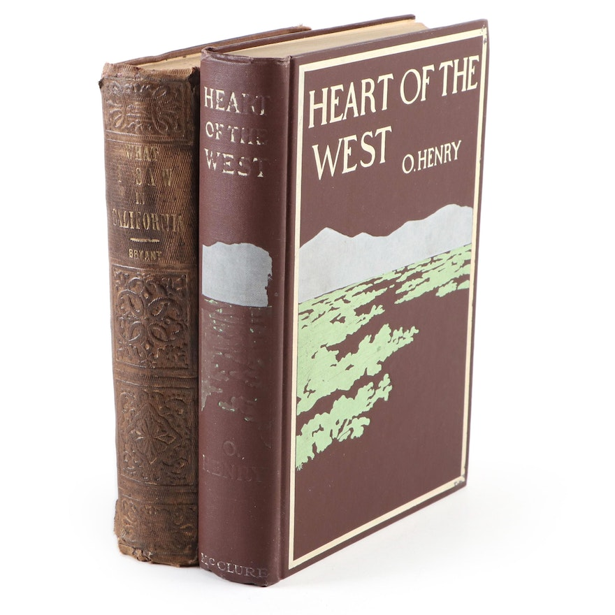 """What I Saw in California"" by Edwin Bryant, and ""Heart of the West"" by O. Henry"