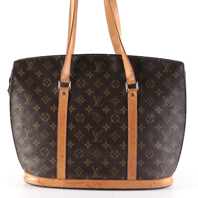 Louis Vuitton Babylone Shoulder Bag in Monogram Canvas