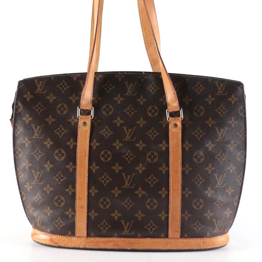 Louis Vuitton Babylone Shoulder Bag in Monogram Canvas