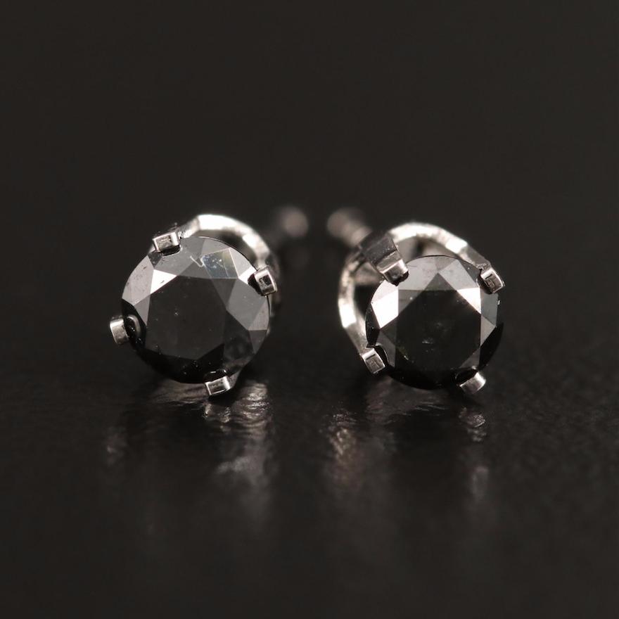 14K 0.37 CTW Diamond Stud Earrings