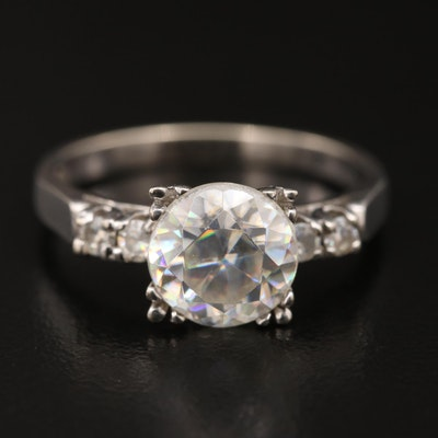 14K Rutile Five Stone Ring