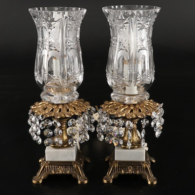 Hollywood Regency Style Boudoir Lamps, Mid-20th Century