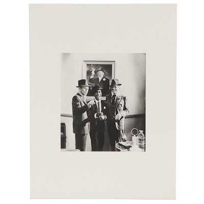 "Rotogravure after Cecil Beaton ""Rat Pack,"" 1982"