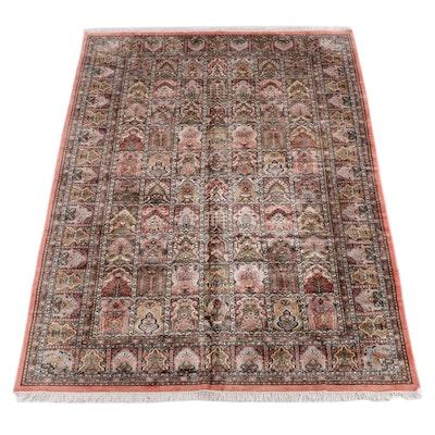 6'10.5 x 10'7 Hand-Knotted Persian Bakhtiari  Chahar Mahal Wool Rug