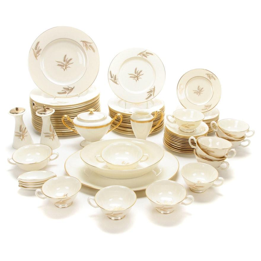 "Lenox ""Harvest"" and ""Wheat"" Porcelain Dinnerware"