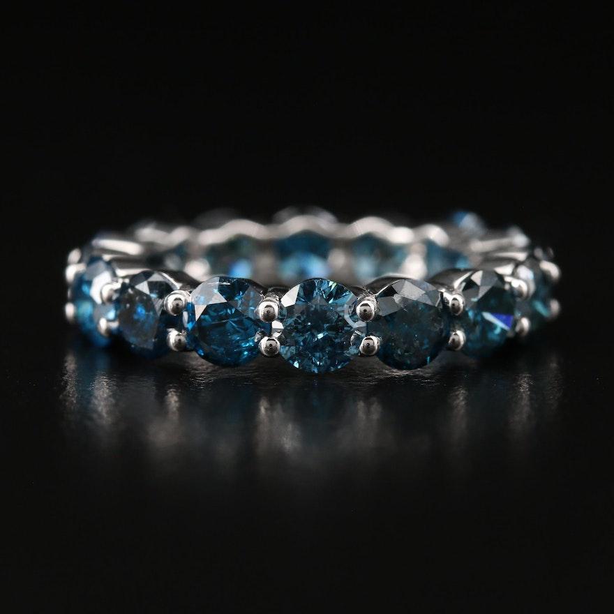 14K 4.71 CTW Diamond Eternity Band