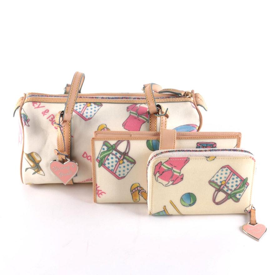 Dooney & Bourke Miami Shoulder Bag with Coordinating Wallets