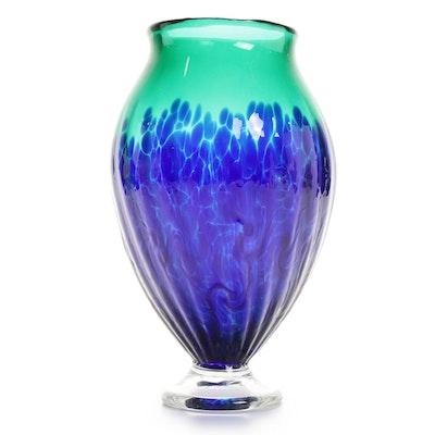 Thomas Chapman Art Glass Vase, 2003