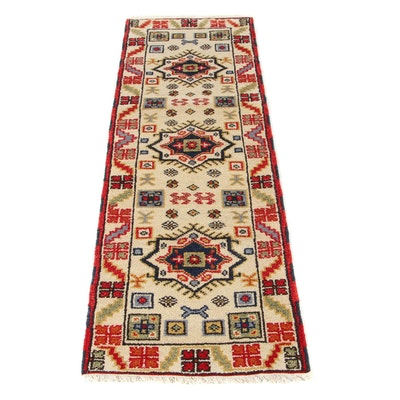 2'2 x 6'9 Hand-Knotted Indo-Persian Tabriz Runner