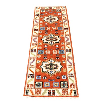 2'2 x 6'11 Hand-Knotted Indo-Persian Tabriz Runner Rug