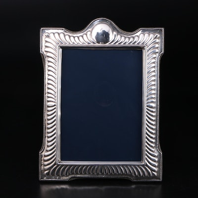 R. Carr of Sheffield, England Sterling Silver Easel Frame, 1989