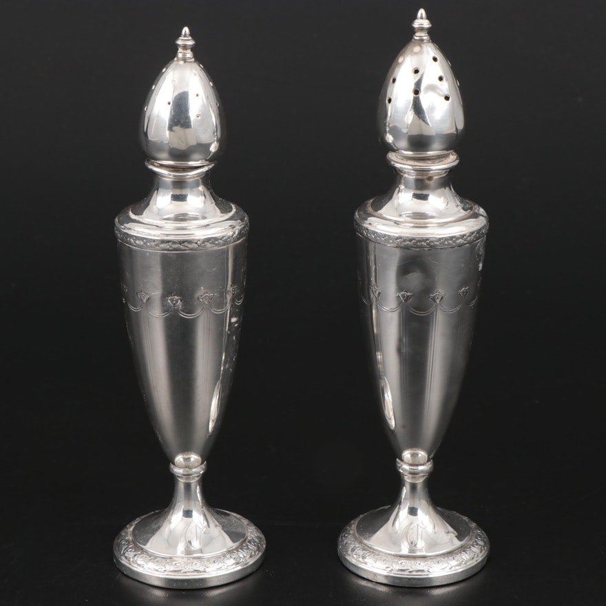 La Pierre Weighted Sterling Silver Shakers