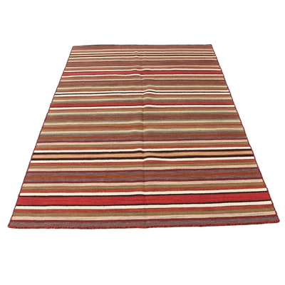 5' x 8'2 Handwoven Turkish Kilim Rug