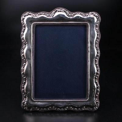 Jon Bull Ltd. of London Sterling Silver Easel Frame, 1983