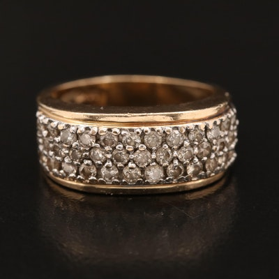 14K 1.01 CTW Diamond Band