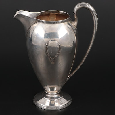Holmes & Edwards Silver Plate Water Pitcher