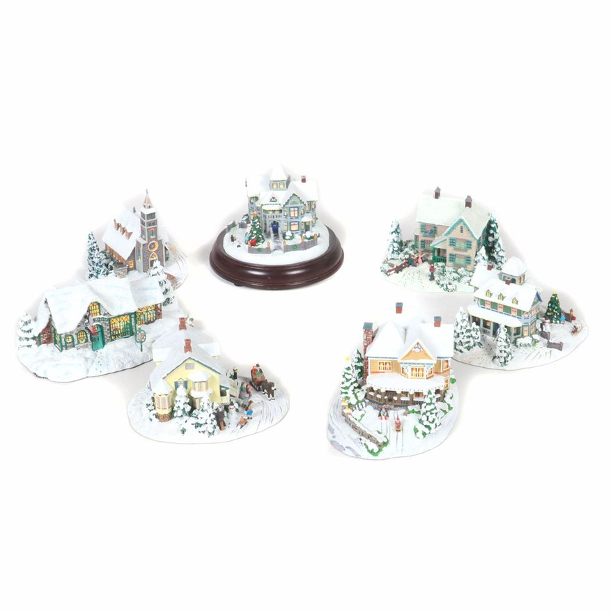 """Hawthorne Village Including """"Victorian Homestead"""", """"Christmas Eve"""" and Others"""