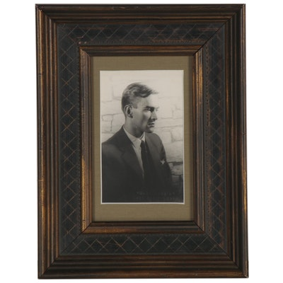 Carl van Vechten Silver Gelatin Portrait Photograph, Mid-20th Century