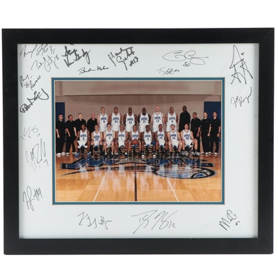 2009 Orlando Magic Signed Framed Photo Print with NBA Star Dwight Howard